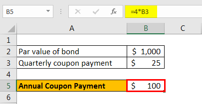 coupon rate formula example 3.2