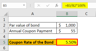 coupon rate formula example2.3