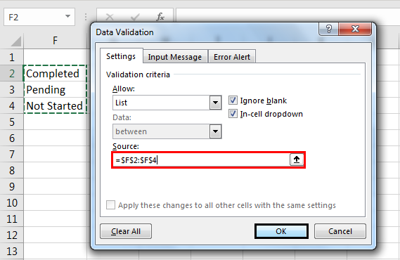 edit drop down list example 2.3