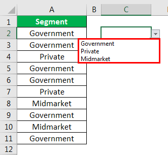 excel countif example 2.8