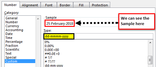 excel date format example 2.5
