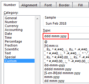 excel date format example 3.5