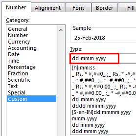 excel date format example 3.9