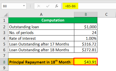 mortgage formula example 2.5