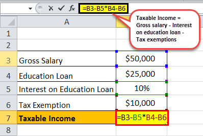 taxable income formula eg 1.1png