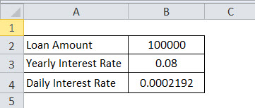 Accrued interest formula eg 2