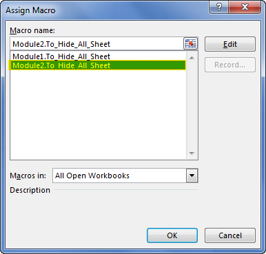 Assign macro Step 6