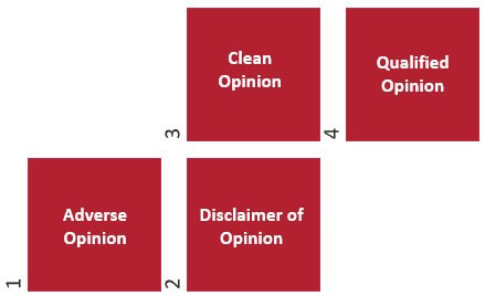 Audit Report Opinion Types