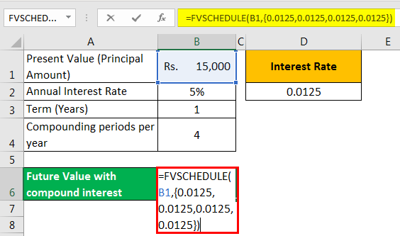 Compound interest examples 3-4