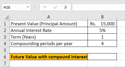 Compound interest examples 4