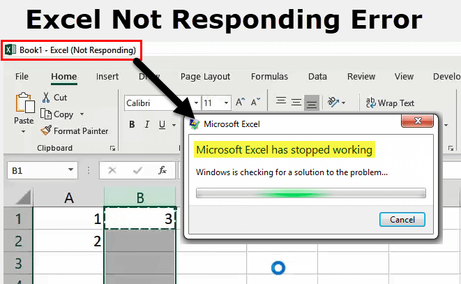 Excel Not Responding | How to Easily Fix Excel Not Responding Error?