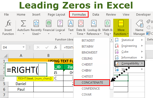 Leading Zeros in Excel | How to Add Leading Zero in Excels?