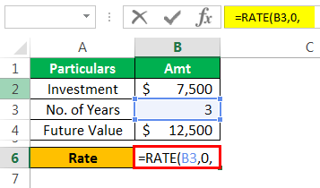 Rate Formula Example 1-3
