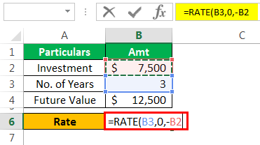 Rate Formula Example 1-4