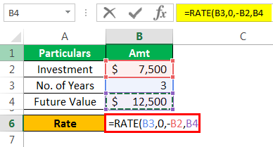 Rate Formula Example 1-5