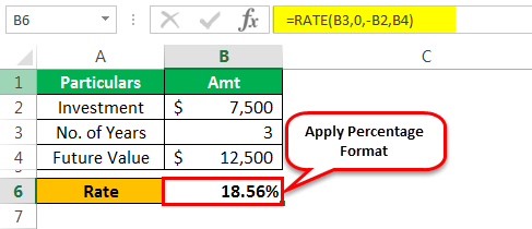 Rate Formula Example 1-7