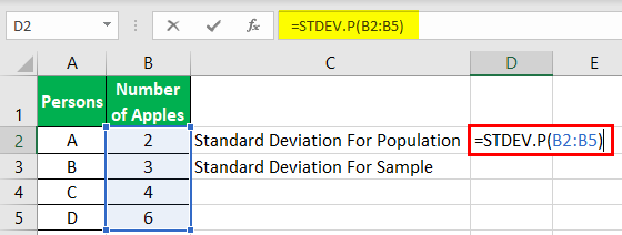 Standard Deviation Example 1-2