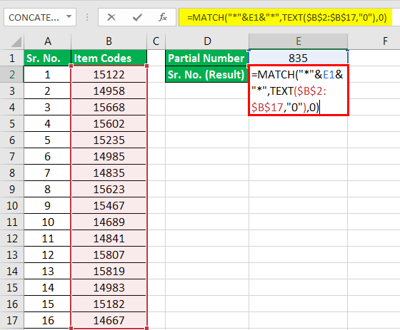 Excel Text Function Example 4-33