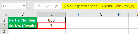 Excel Text Function Example 4-6