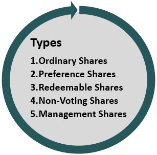 Types of Shares Issued