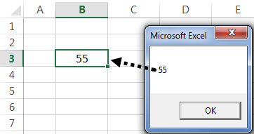 VBA Active Cell Example 2-5