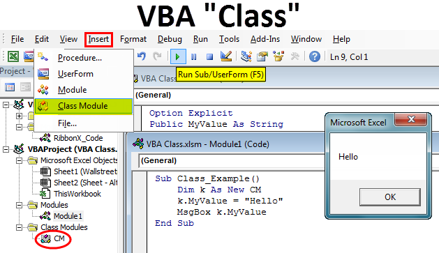 VBA Class Modules | How to Create and Use Class in Excel VBA?