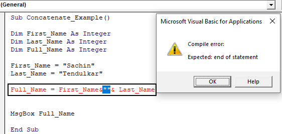 VBA Concatenate | How to Concatenate Strings Together in VBA?