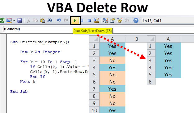 VBA-DELETE-ROW