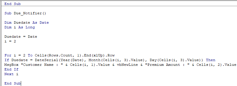 VBA Date Function Example 2-2.pn