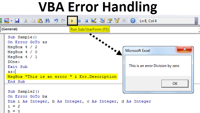 VBA Error Handling | Step by Step Guide to Error Handling in ...
