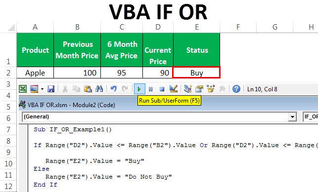 VBA IF OR | How to Use IF Condition with OR Function in ...