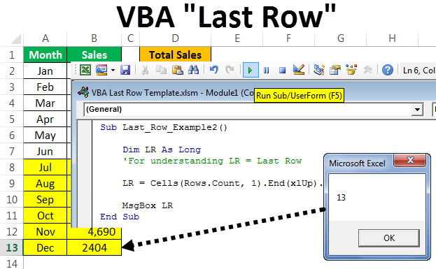 VBA Last Row | Top 3 Methods to Find the Last Used Row?
