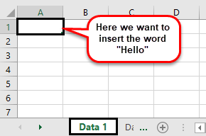 VBA cells example