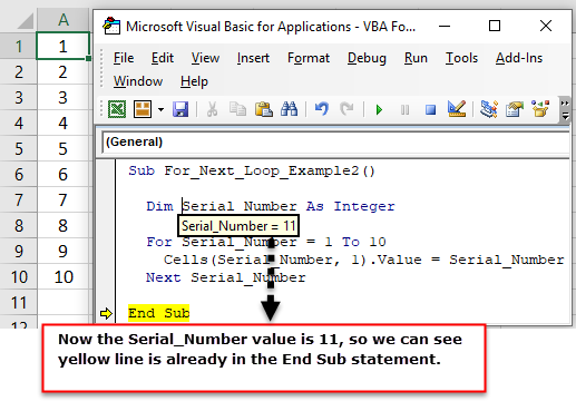 VBA For Next Loop | Step by Step Guide to use For Next Loop in VBA
