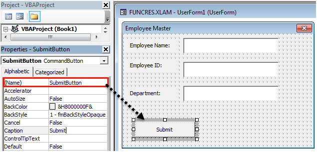 VBA userform Example 1-24