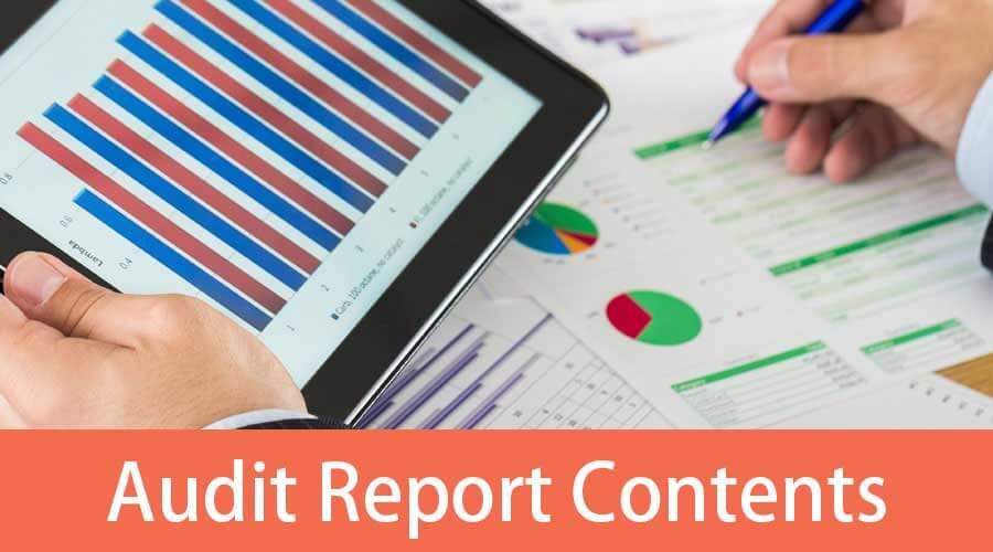 audit-report-contents