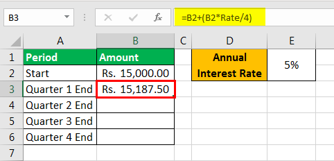 compound interest examples 2-3