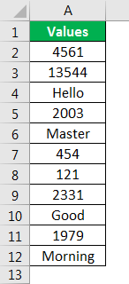 count formula example
