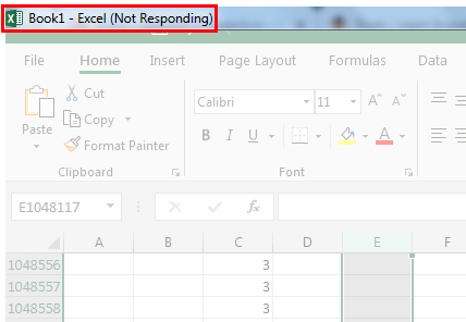 Excel Not Responding | How to Easily Fix Excel Not