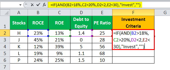 If and in Excel example 3.1 syntax