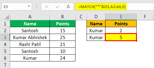 match formula excel example 2.4
