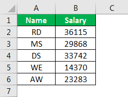 offset excel example 1.1