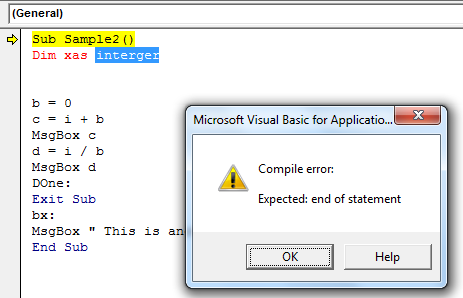 vba error example 3