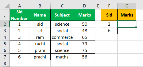vlookup examples in excel