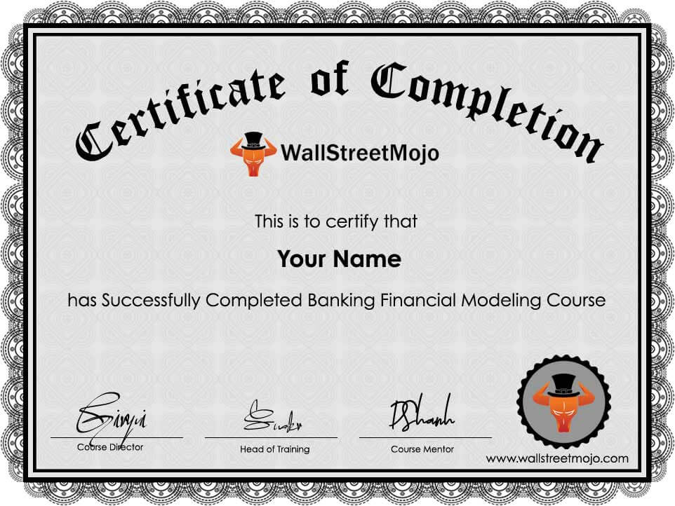 Banking Financial Modeling Course