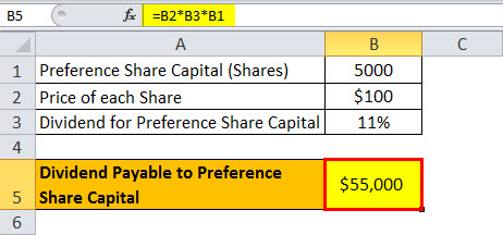 Dividend Payable Example 3