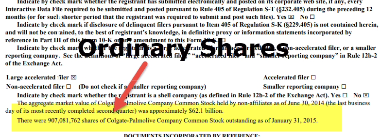 Ordinary Shares