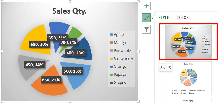 Make Pie Charts in Excel (Top 5 Types) | Step by Step Guide + Examples