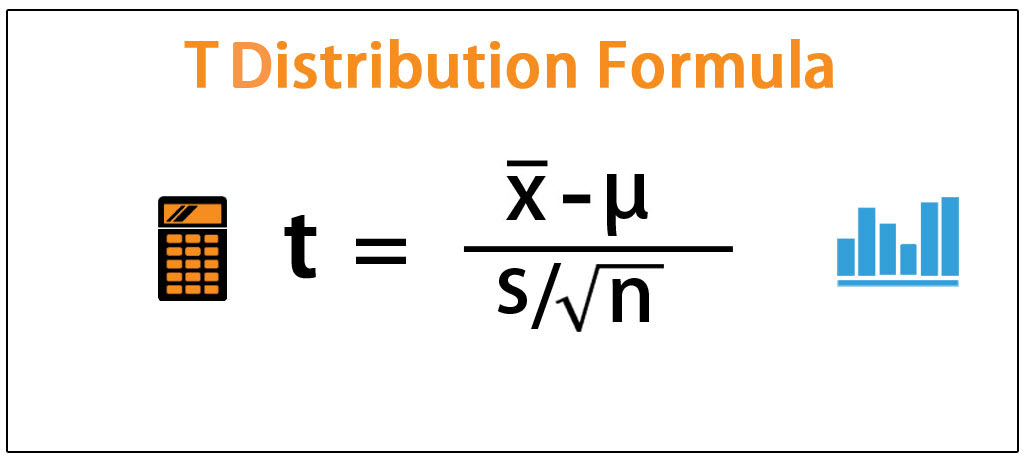 T Distribution Formula