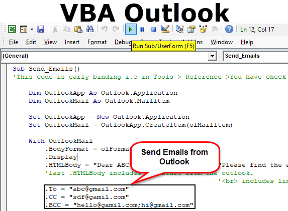 VBA Outlook